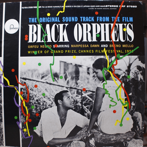 Tom Jobim Vinicius de Moraes, Various ‎– The Original Sound Track From The Film Black Orpheus