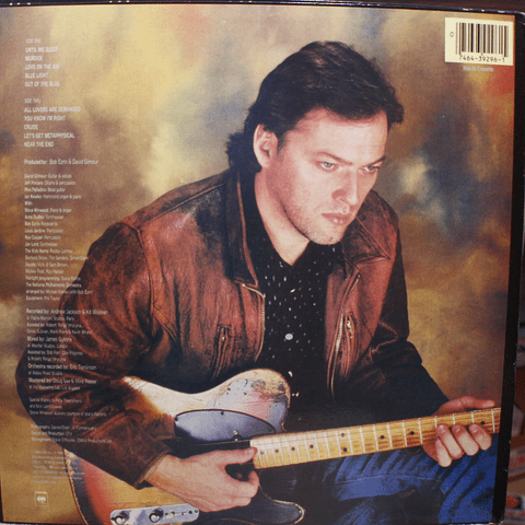 David Gilmour (pink Floyd) – About Face (1a Ed USA)