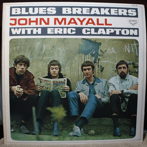 John Mayall With Eric Clapton ‎– Blues Breakers (Ed Japón)