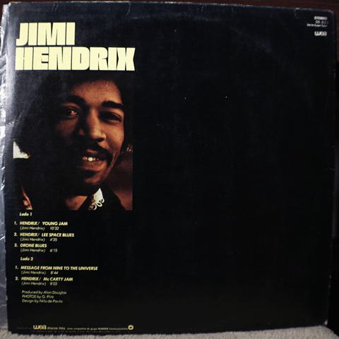 Jimi Hendrix ‎– Message From Nine To The Universe