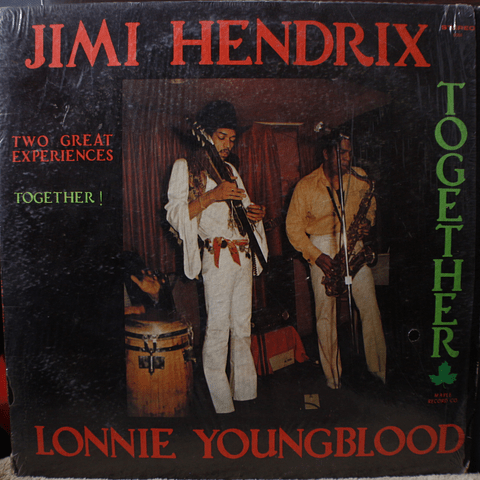 Jimi Hendrix And Lonnie Youngblood ‎– Two Great Experiences - Together