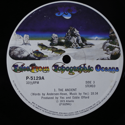 Yes ‎– Tales From Topographic Oceans