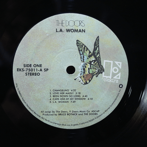 Doors ‎– L.A. Woman (Ed. USA '70s)