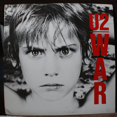 U2 ‎– War (1a Ed USA)