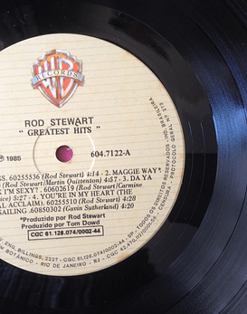 Rod Stewart ‎– Greatest Hits