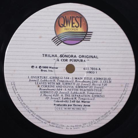 Quincy Jones – The Color Purple (Original Motion Picture Sound Track)