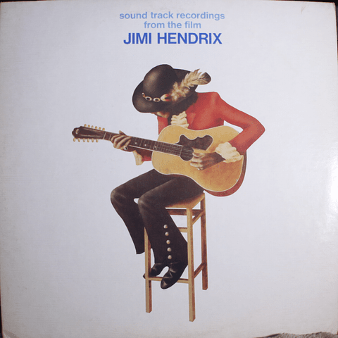 "Jimi Hendrix ‎– Sound Track Recordings From The Film ""Jimi Hendrix"" (1a Ed USA)"