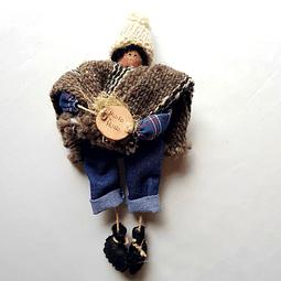 Ser Mágico Mapuche Colgante 3