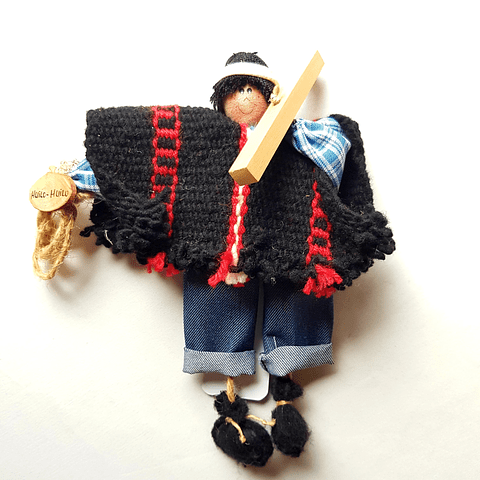Ser Mágico Mapuche Colgante 7