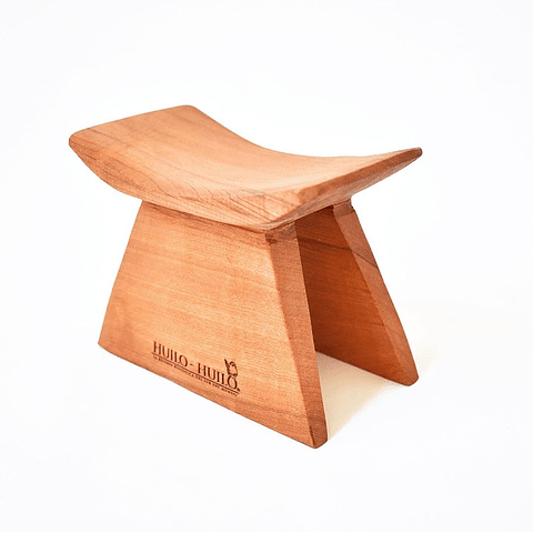 Huanco pequeño de madera