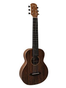 Guitarlele Mahori Walnut Solid Electroacústico MAH-45EQ + Funda