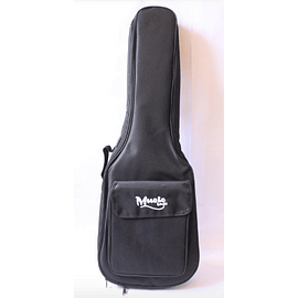 Funda Guitarra Clasica Music Bag Negra NYLON 15MM MUB-122C