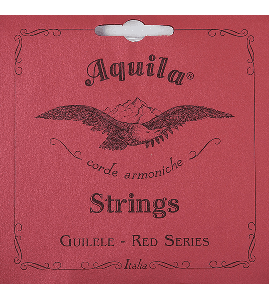 Cuerdas Guitarlele GUITARRA MI ESTANDAR Aquila Red Series 153C
