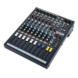 SOUNDCRAFT Mezclador de 6 canales