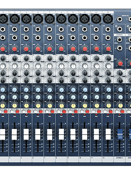 Mixer Soundcraft 12 canales