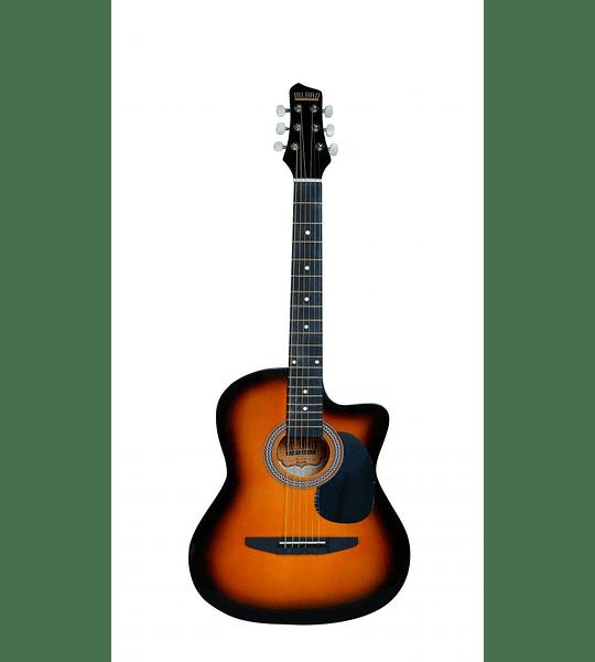 Guitarra Acústica Bilbao cuerda metálica BIL-38C-SB