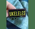 Pins UKELELES (brillan en la oscuridad)