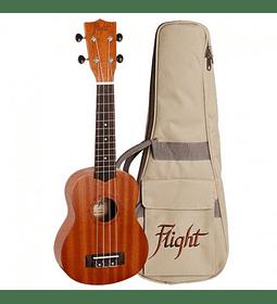 Ukelele Flight Soprano natural + funda