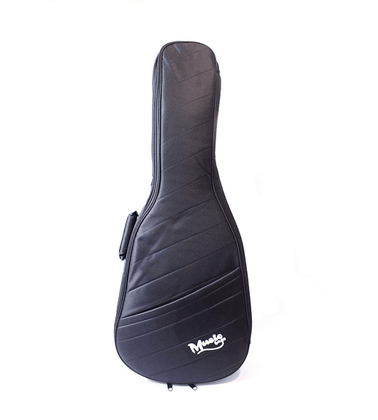 Funda Guitarra Clasica Music Negra Nylon 25MM MUB-121C