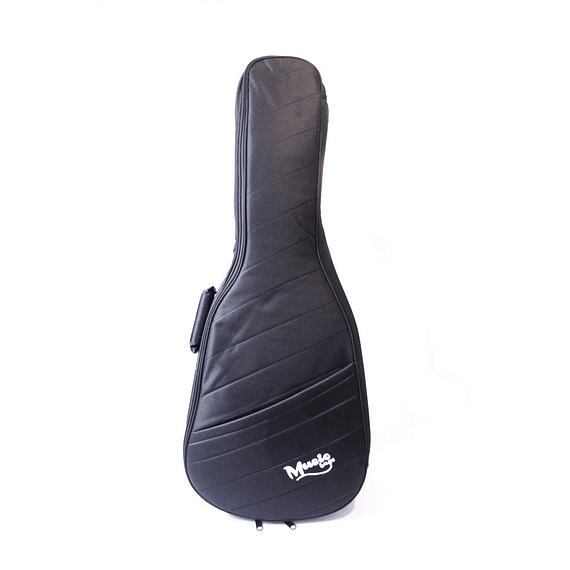 Funda Guitarra Electroacústica Music Negra Nylon 25MM MUB-121A