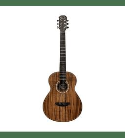 Guitarra Travel Electroacústica Mahori MAH-3604EQ + Funda
