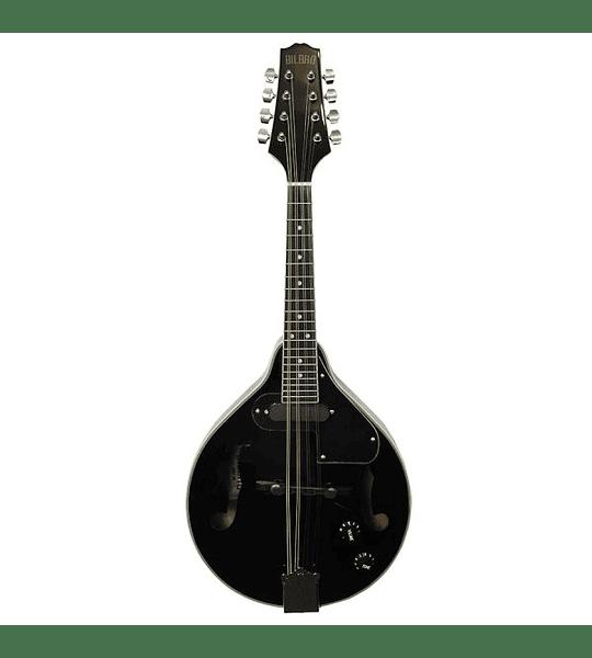 Mandolina Electroacústica Negra Bilbao M30T-BK