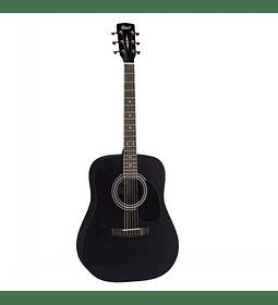 Guitarra Acústica Black Satín CORT AD810-BKS