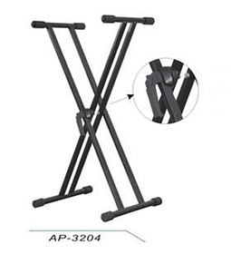 Atril Doble para Teclado Apextone AP3204