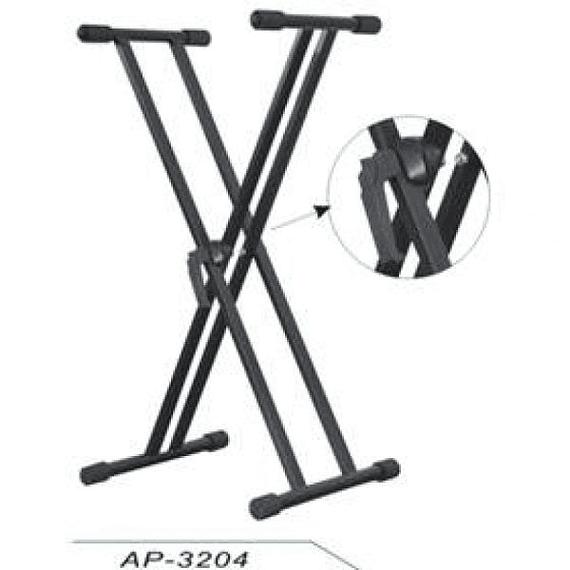 Atril Doble para Teclado Apextone AP-3204