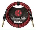 Cable de instrumento Kirlin Rojo 3Mts IWCX-201B-3R