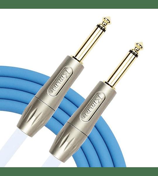 Cable instrumento Plug-Plug BLUELINE BLI-201PFG 3 mts