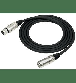 Cable Micrófono 6mts Kirlin Serie C XLR 3M MPC-280-6