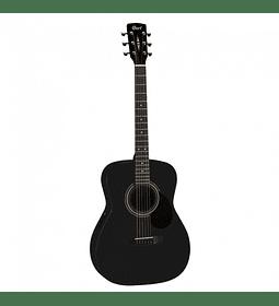 Guitarra Acústica Black Satin CORT AF510-BKS