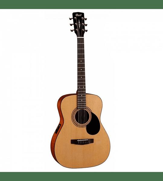 Guitarra Electroacústica Open Pore CORT AF510E-OP