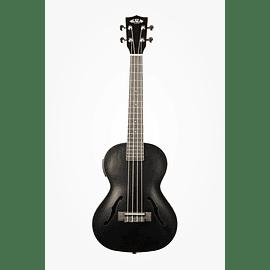 Ukelele Kala Metallic Black Archtop Tenor