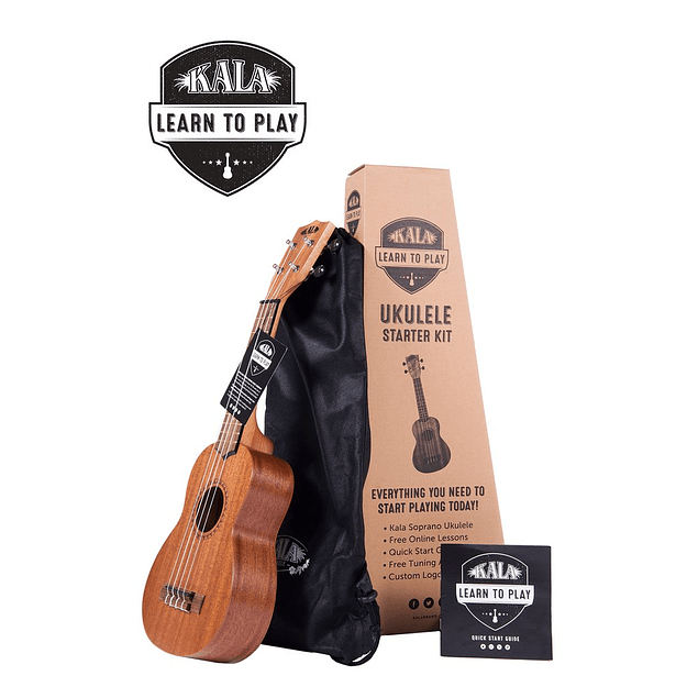 Pack Kala - Uke + Funda + Instructivo