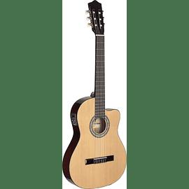 Guitarra Clásica 1/2 caja Cutaway - Eq. 5 bandas
