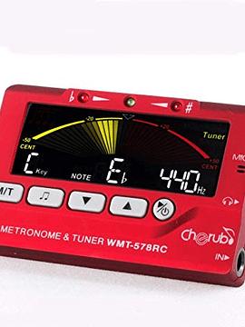 Afinador Metrónomo LCD Color 578RC Cherub