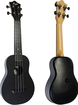 Ukelele Flight TRAVEL Negro