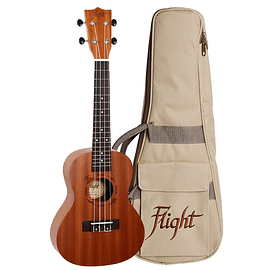 PACK Flight Concierto Caoba (Afinador + Funda)