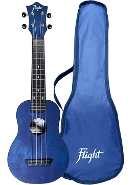 Ukelele Flight TRAVEL Azul