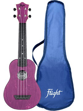 Ukelele Flight TRAVEL Purpura