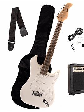 Guitarra Electrica EPIC Blanca