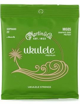 Cuerdas de Ukelele Martin & Co 605 Soprano