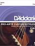 Cuerdas Daddario Concierto clear nylon