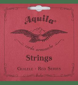 SET CUERDAS GUITARLELE AQUILA RED SERIES 133C