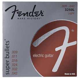 Cuerdas Fender Super Bullets
