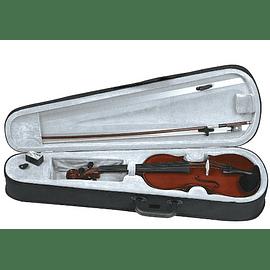 Violin Gewa tamaño 4/4 con estuche y accesorios