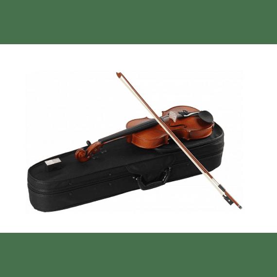 Violin Gewa tamaño 3/4 con estuche y accesorios