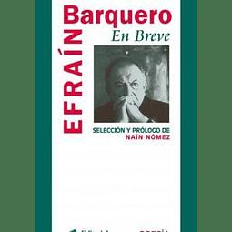 Efraín Barquero. Poesía en breve